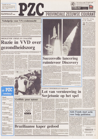 Provinciale Zeeuwse Courant 1988-09-30