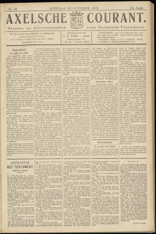 Axelsche Courant 1935-10-29