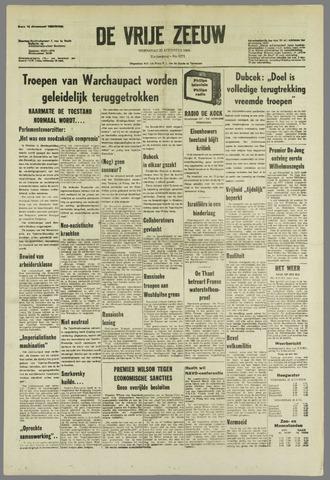 de Vrije Zeeuw 1968-08-28