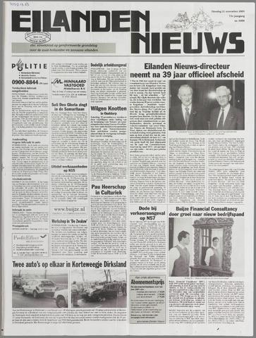 Eilanden-nieuws. Christelijk streekblad op gereformeerde grondslag 2000-11-21