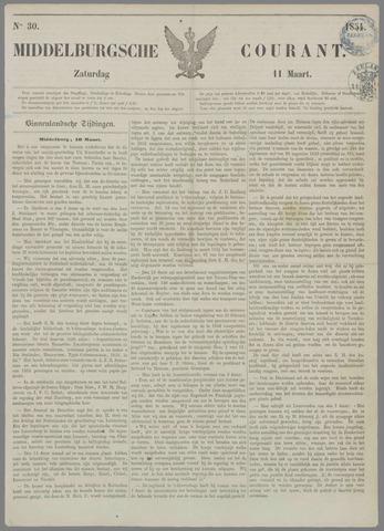 Middelburgsche Courant 1854-03-11
