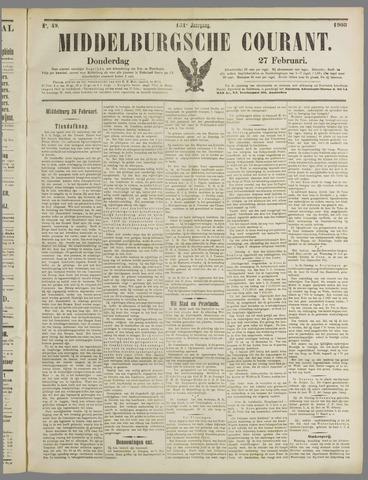 Middelburgsche Courant 1908-02-27