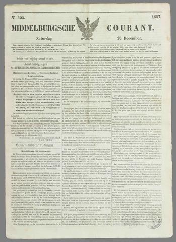 Middelburgsche Courant 1857-12-26