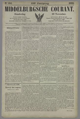 Middelburgsche Courant 1883-11-29