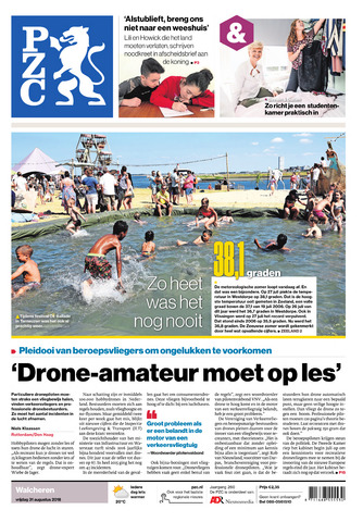 Provinciale Zeeuwse Courant 2018-08-31