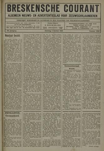 Breskensche Courant 1920-10-02