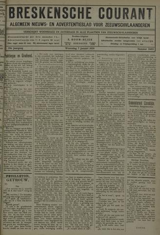 Breskensche Courant 1920-01-07