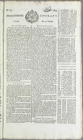Zierikzeesche Courant 1824-10-15