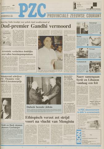 Provinciale Zeeuwse Courant 1991-05-22