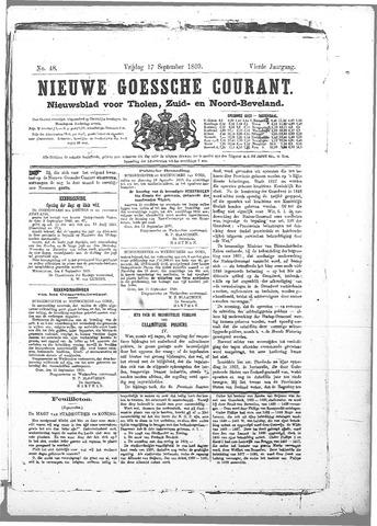 Nieuwe Goessche Courant 1869-09-17