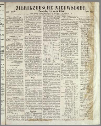Zierikzeesche Nieuwsbode 1880-07-24