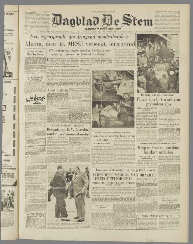 de Stem 1954-08-25