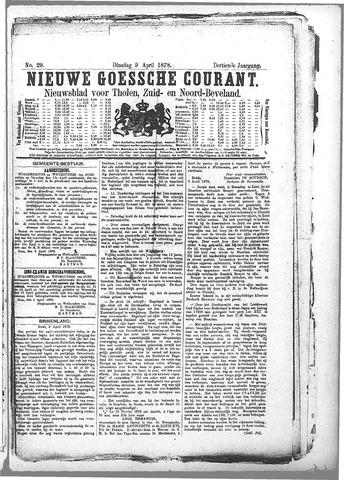 Nieuwe Goessche Courant 1878-04-09