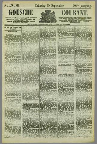 Goessche Courant 1917-09-15