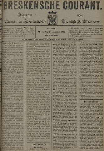 Breskensche Courant 1914-01-14