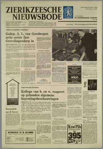 Zierikzeesche Nieuwsbode 1976-12-02