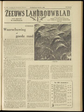 Zeeuwsch landbouwblad ... ZLM land- en tuinbouwblad 1960-07-30