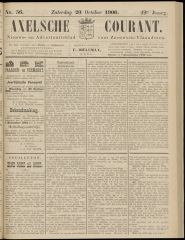 Axelsche Courant 1906-10-20