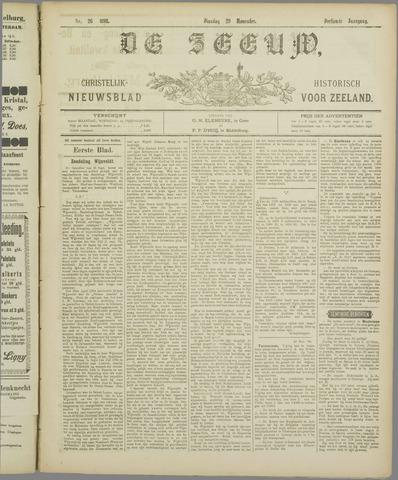 De Zeeuw. Christelijk-historisch nieuwsblad voor Zeeland 1898-11-29