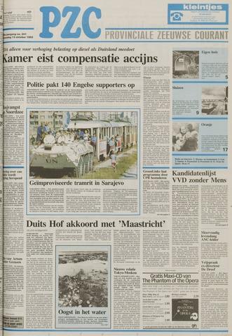 Provinciale Zeeuwse Courant 1993-10-13