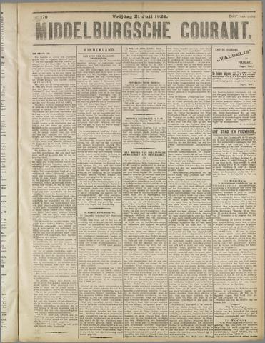 Middelburgsche Courant 1922-07-21