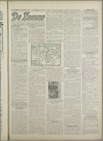 De Zeeuw. Christelijk-historisch nieuwsblad voor Zeeland 1943-03-25
