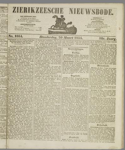Zierikzeesche Nieuwsbode 1854-03-30