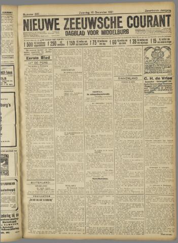 Nieuwe Zeeuwsche Courant 1921-12-10