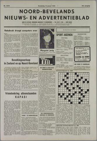 Noord-Bevelands Nieuws- en advertentieblad 1986-01-16