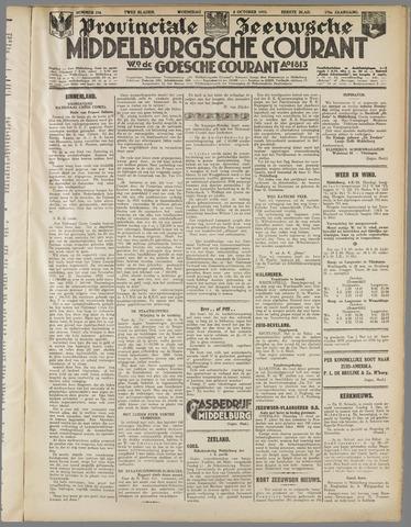 Middelburgsche Courant 1933-10-04