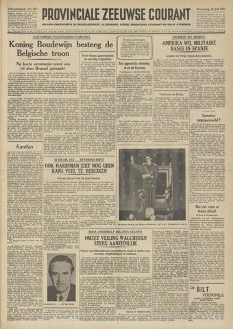 Provinciale Zeeuwse Courant 1951-07-18