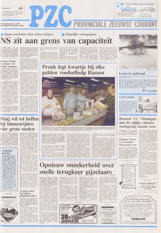 Provinciale Zeeuwse Courant 1990-12-08