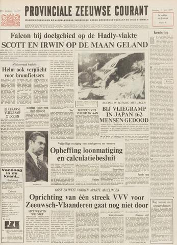 Provinciale Zeeuwse Courant 1971-07-31