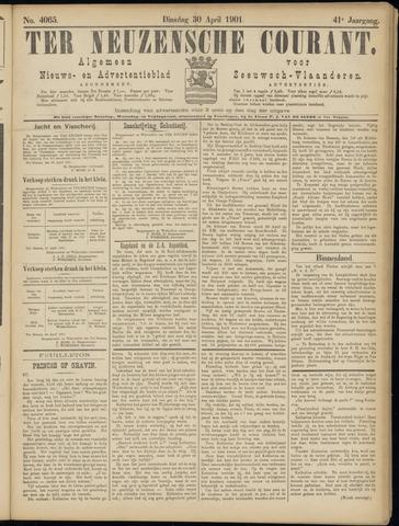 Ter Neuzensche Courant. Algemeen Nieuws- en Advertentieblad voor Zeeuwsch-Vlaanderen / Neuzensche Courant ... (idem) / (Algemeen) nieuws en advertentieblad voor Zeeuwsch-Vlaanderen 1901-04-30