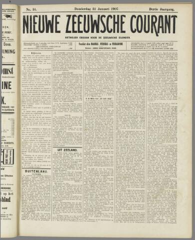 Nieuwe Zeeuwsche Courant 1907-01-31