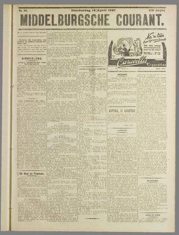 Middelburgsche Courant 1927-04-14