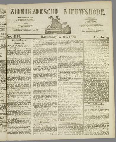 Zierikzeesche Nieuwsbode 1855-05-03