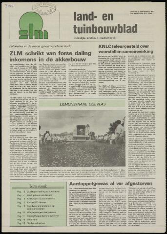 Zeeuwsch landbouwblad ... ZLM land- en tuinbouwblad 1991-09-06