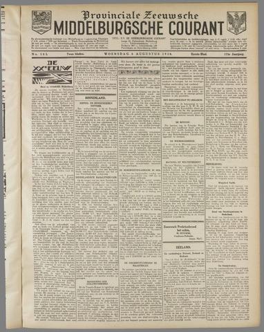 Middelburgsche Courant 1930-08-06