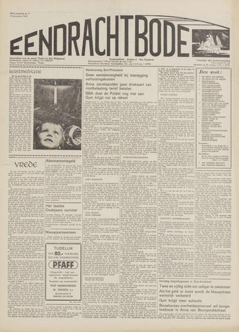 Eendrachtbode (1945-heden)/Mededeelingenblad voor het eiland Tholen (1944/45) 1969-12-18