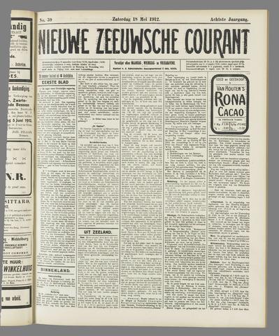 Nieuwe Zeeuwsche Courant 1912-05-18