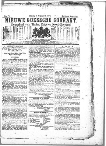 Nieuwe Goessche Courant 1878-09-09