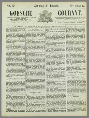 Goessche Courant 1896-01-25