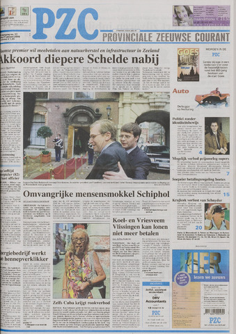 Provinciale Zeeuwse Courant 2005-01-21