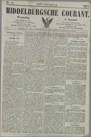 Middelburgsche Courant 1877-01-03