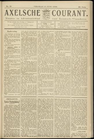 Axelsche Courant 1926-06-11