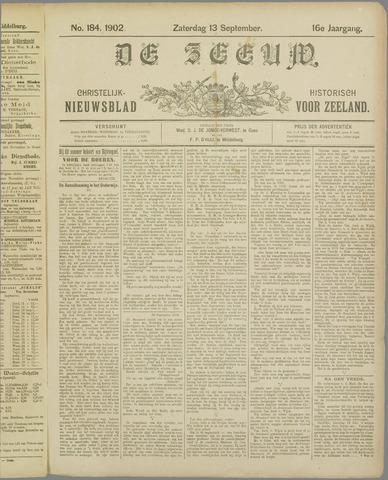 De Zeeuw. Christelijk-historisch nieuwsblad voor Zeeland 1902-09-13