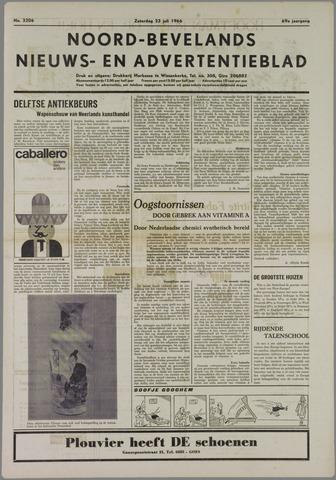 Noord-Bevelands Nieuws- en advertentieblad 1966-07-23