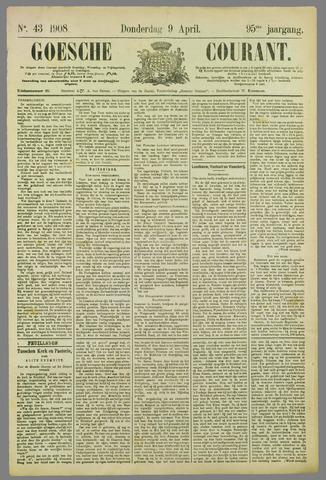 Goessche Courant 1908-04-09