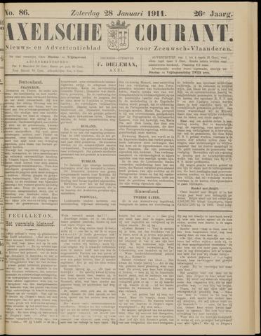 Axelsche Courant 1911-01-28